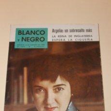 Coleccionismo de Revista Blanco y Negro: REVISTA BLANCO Y NEGRO Nº 2492, 1960 EULALIA SOLDEVILLA, ACTRIZ COMICA Y DRAMATICA. Lote 52337066