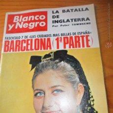 Coleccionismo de Revista Blanco y Negro: BLANCO Y NEGRO Nº 2837, 1966- BARCELONA, ATLETICO MADRID, SEBASTIAN PALOMO, VER +.... Lote 52483421
