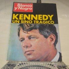Coleccionismo de Revista Blanco y Negro: REVISTA BLANCO Y NEGRO Nº 2928 1968 KENNEDY UN SINO TRAGICO. Lote 53034548