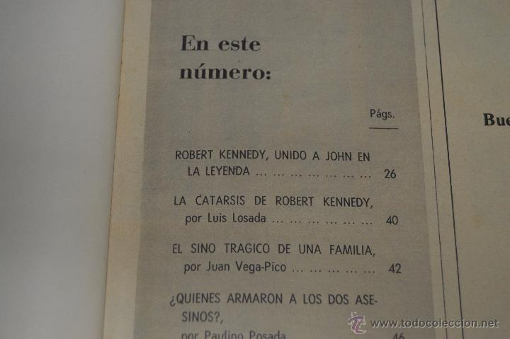 Coleccionismo de Revista Blanco y Negro: REVISTA BLANCO Y NEGRO Nº 2928 1968 KENNEDY UN SINO TRAGICO - Foto 2 - 53034548