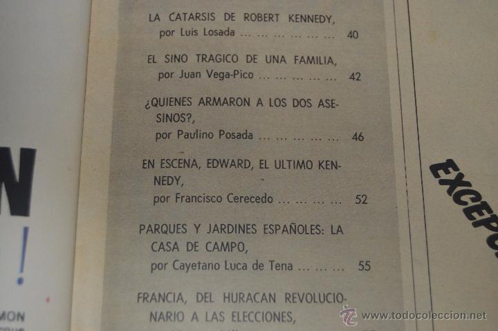 Coleccionismo de Revista Blanco y Negro: REVISTA BLANCO Y NEGRO Nº 2928 1968 KENNEDY UN SINO TRAGICO - Foto 3 - 53034548