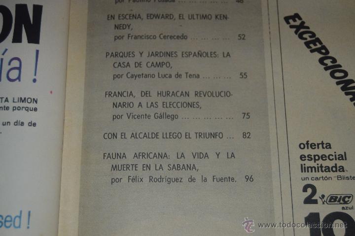 Coleccionismo de Revista Blanco y Negro: REVISTA BLANCO Y NEGRO Nº 2928 1968 KENNEDY UN SINO TRAGICO - Foto 4 - 53034548