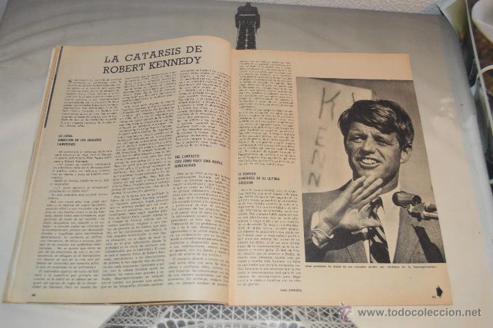 Coleccionismo de Revista Blanco y Negro: REVISTA BLANCO Y NEGRO Nº 2928 1968 KENNEDY UN SINO TRAGICO - Foto 5 - 53034548