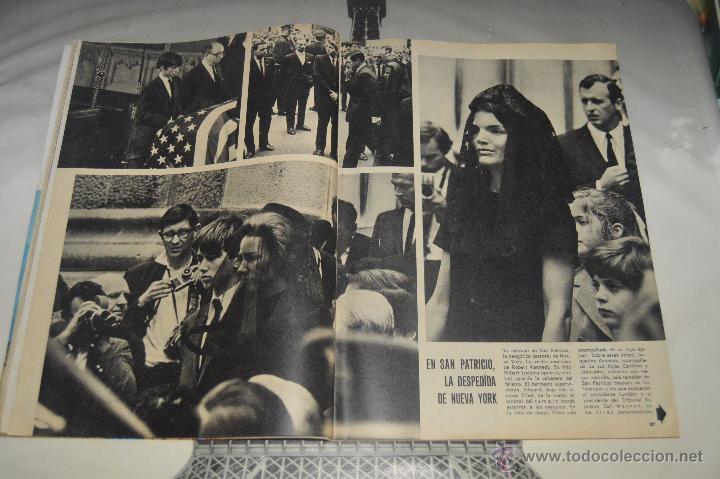 Coleccionismo de Revista Blanco y Negro: REVISTA BLANCO Y NEGRO Nº 2928 1968 KENNEDY UN SINO TRAGICO - Foto 6 - 53034548