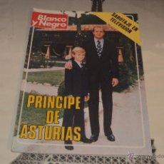 Coleccionismo de Revista Blanco y Negro: REVISTA BLANCO Y NEGRO Nº 3.378 26 ENERO 1977 FELIPE PRINCIPE DE ASTURIAS SABOTAJE EN TELEVISION. Lote 53034741