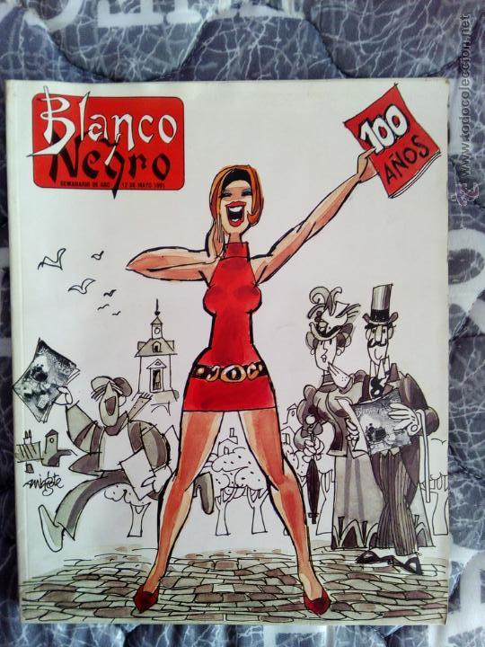 NUMERO BLANCO Y NEGRO CONMEMORATIVO 100 AÑOS (Coleccionismo - Revistas y Periódicos Modernos (a partir de 1.940) - Blanco y Negro)