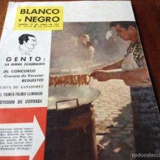 Coleccionismo de Revista Blanco y Negro: REVISTA BLANCO Y NEGRO JUNIO 1961. Lote 53691601