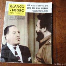 Coleccionismo de Revista Blanco y Negro: BLANCO Y NEGRO DICIEMBRE 1961 N 2539. Lote 53692485