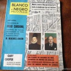 Coleccionismo de Revista Blanco y Negro: BLANCO Y NEGRO MAYO 1961 N 2559. Lote 53692871