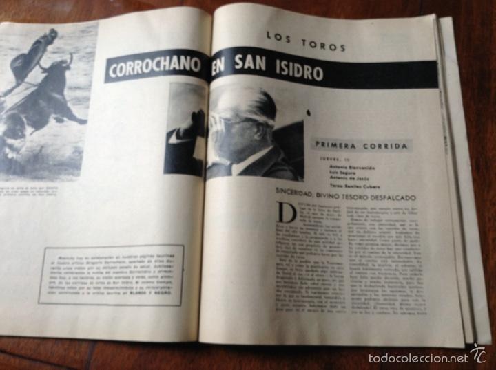 Coleccionismo de Revista Blanco y Negro: Blanco y negro mayo 1961 n 2559 - Foto 5 - 53692871