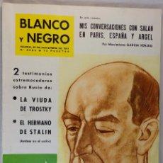 Coleccionismo de Revista Blanco y Negro: BLANCO Y NEGRO Nº 2586 25 DE NOVIEMBRE DE 1961. Lote 54096126