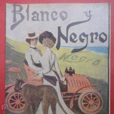 Coleccionismo de Revista Blanco y Negro: BLANCO Y NEGRO Nº 596. 1902.. Lote 54225648