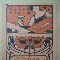 Colecionismo de Revistas Preto e Branco: BLANCO Y NEGRO Nº 509. 1901.. Lote 54228956