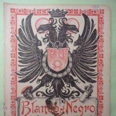 Collezionismo di Rivista Blanco y Negro: BLANCO Y NEGRO Nº 549. AÑO 1901. PESCA DEL BOU. LA MALVARROSA Y SUS COSTUMBRES. Lote 54229796