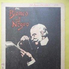 Collezionismo di Rivista Blanco y Negro: BLANCO Y NEGRO Nº 556. 1901.. Lote 54229936