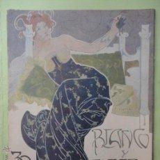 Coleccionismo de Revista Blanco y Negro: BLANCO Y NEGRO Nº 606. 1902.. Lote 54230253