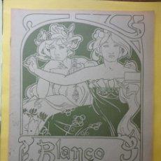 Coleccionismo de Revista Blanco y Negro: BLANCO Y NEGRO Nº 611. 1902.. Lote 54246840