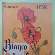 Colecionismo de Revistas Preto e Branco: BLANCO Y NEGRO Nº 738. 1905.. Lote 54263039