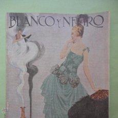 Collectionnisme de Magazine Blanco y Negro: BLANCO Y NEGRO Nº 1549. 1921.. Lote 54319854