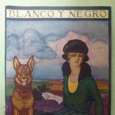 Collezionismo di Rivista Blanco y Negro: BLANCO Y NEGRO. NÚMERO 1477. AÑO 1919 . Lote 55078715