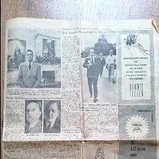Coleccionismo de Revista Blanco y Negro: PÁGINA HISTÓRICA NEW YORK TIMES JUAN CARLOS I SUCESOR DESIGNACIÓN FRANCO (ORIGINAL 1969). Lote 55302195