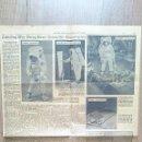 Coleccionismo de Revista Blanco y Negro: PÁGINA ORIGINAL NEW YORK TIMES 1969 - 18 JULIO, DOS DÍAS ANTES LLEGADA A LA LUNA. Lote 55302403
