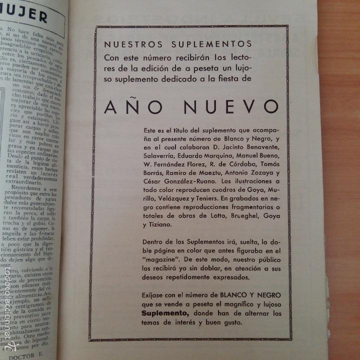 Coleccionismo de Revista Blanco y Negro: REVISTA BLANCO Y NEGRO. AÑOS 30. CREO QUE DE FINALES DE 1935 - Foto 2 - 55396764