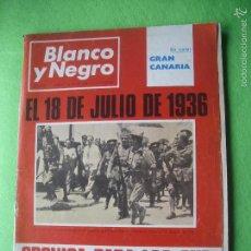 Coleccionismo de Revista Blanco y Negro: BLANCO Y NEGRO EL 18 DE JULIO DE 1936 CRONICA PARA LOS QUE AUN NO HABIAN NACIDO N 2828 JULIO PEPETO. Lote 56286014