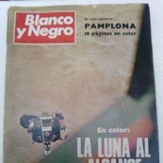 Coleccionismo de Revista Blanco y Negro: BLANCO Y NEGRO 2980 -1969 -LA LUNA AL ALCANCE DE LA MANO -. Lote 56420542
