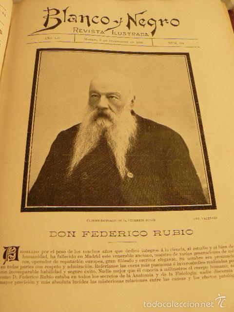 Coleccionismo de Revista Blanco y Negro: REVISTA BLANCO Y NEGRO AÑO 1903 - Foto 7 - 56834243