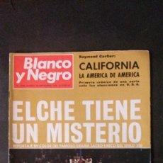 Collezionismo di Rivista Blanco y Negro: BLANCO Y NEGRO-1968-ELCHE-JEREZ-MANET-PUBLICIDAD RELOJ OMEGA. Lote 56880029