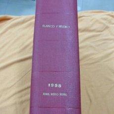 Coleccionismo de Revista Blanco y Negro: REVISTA BLANCO Y NEGRO - TOMO CON TODOS LOS NÚMEROS DE ABRIL, MAYO Y JUNIO DE 1958 . Lote 57428725