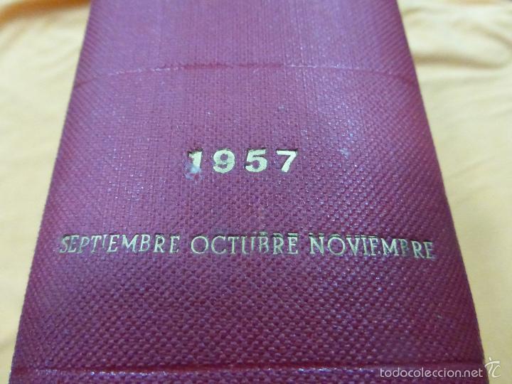 Coleccionismo de Revista Blanco y Negro: REVISTA BLANCO Y NEGRO. TOMO CON TODOS LOS NÚMEROS DE SEPTIEMBRE, OCTUBRE Y NOVIEMBRE DE 1957 - Foto 6 - 57428816