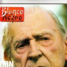 Coleccionismo de Revista Blanco y Negro: REVISTA BLANCO Y NEGRO 19 DE JUNIO 1988 . Lote 57486768