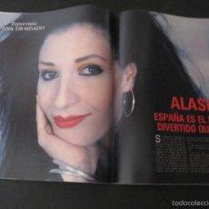 Coleccionismo de Revista Blanco y Negro: REVISTA BLANCO Y NEGRO 1989. AMPLIA ENTREVISTA ALASKA (FANGORIA) MADONNA AUDREY HEPBURN CARMEN MAURA. Lote 57614546