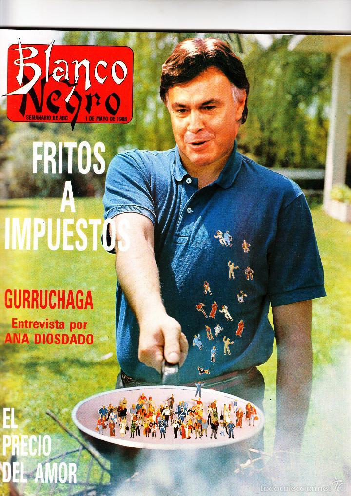 BLANCO Y NEGRO 1 DE MAYO DE 1988 (Coleccionismo - Revistas y Periódicos Modernos (a partir de 1.940) - Blanco y Negro)