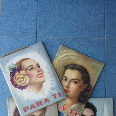 Collectionnisme de Magazine Blanco y Negro: 4 REVISTAS ANTIGUAS DE LA MUJER. Lote 58007102