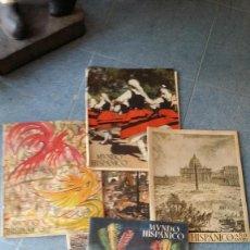 Coleccionismo de Revista Blanco y Negro: 5 REVISTAS ANTIGUAS. Lote 58007143