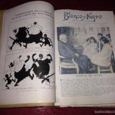 Coleccionismo de Revista Blanco y Negro: TOMO REVISTAS BLANCO Y NEGRO AÑO 1912.. Lote 60269083