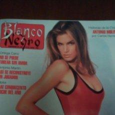 Coleccionismo de Revista Blanco y Negro: REVISTA BLANCO Y NEGRO, CINDY CRAWFORD AÑO 1993.. Lote 63342422