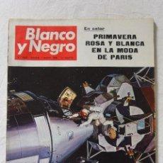 Coleccionismo de Revista Blanco y Negro: Nº 2965 REVISTA BLANCO Y NEGRO 1 MARZO 1969 HOY PARTIMOS EN EL APOLO 9. Lote 66046630