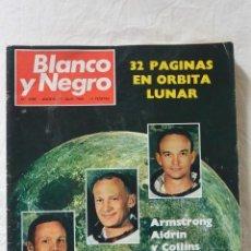 Coleccionismo de Revista Blanco y Negro: Nº 2985 REVISTA BLANCO Y NEGRO 16 JUNIO 1969 ARMSTRONG ALDRIN Y COLLINS TRES HOMBRES PARA LA HISTORI. Lote 66138958