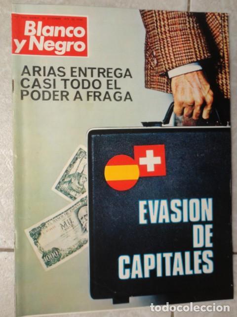 REVISTA BLANCO Y NEGRO Nº 3320 AÑO 1975 -NUEVO GOBIERNO -EVASION DE CAPITALES -MORIR EN EL SAHARA (Coleccionismo - Revistas y Periódicos Modernos (a partir de 1.940) - Blanco y Negro)