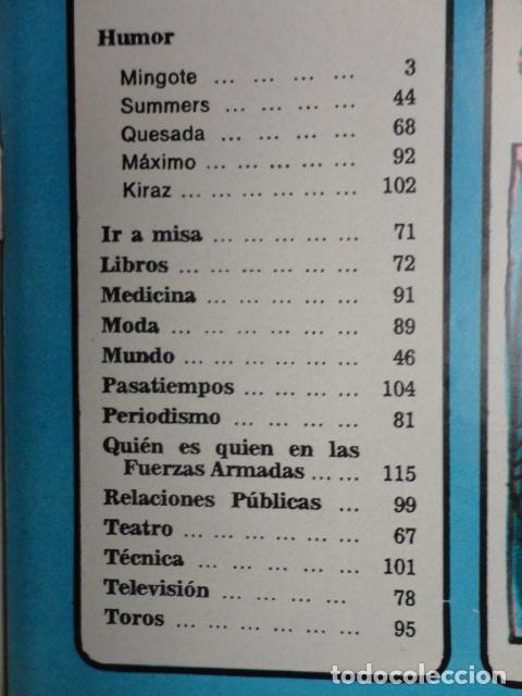 Coleccionismo de Revista Blanco y Negro: REVISTA BLANCO Y NEGRO Nº 3320 AÑO 1975 -NUEVO GOBIERNO -EVASION DE CAPITALES -MORIR EN EL SAHARA - Foto 4 - 68050965