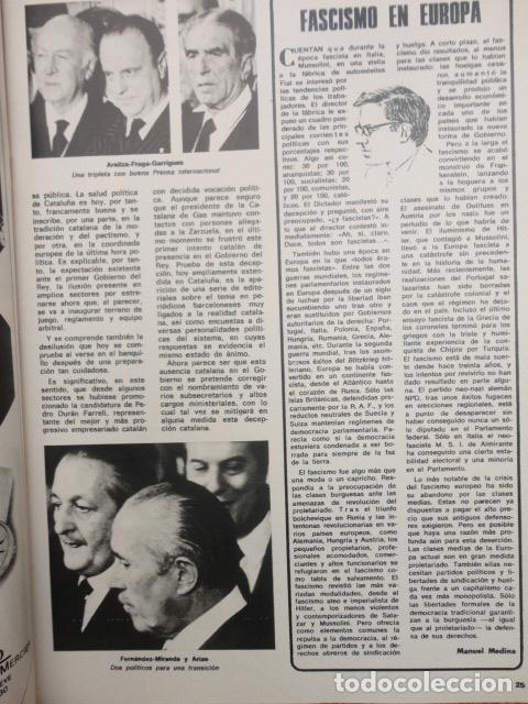 Coleccionismo de Revista Blanco y Negro: REVISTA BLANCO Y NEGRO Nº 3320 AÑO 1975 -NUEVO GOBIERNO -EVASION DE CAPITALES -MORIR EN EL SAHARA - Foto 6 - 68050965