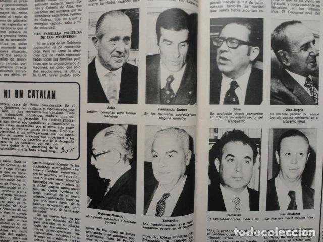 Coleccionismo de Revista Blanco y Negro: REVISTA BLANCO Y NEGRO Nº 3320 AÑO 1975 -NUEVO GOBIERNO -EVASION DE CAPITALES -MORIR EN EL SAHARA - Foto 7 - 68050965