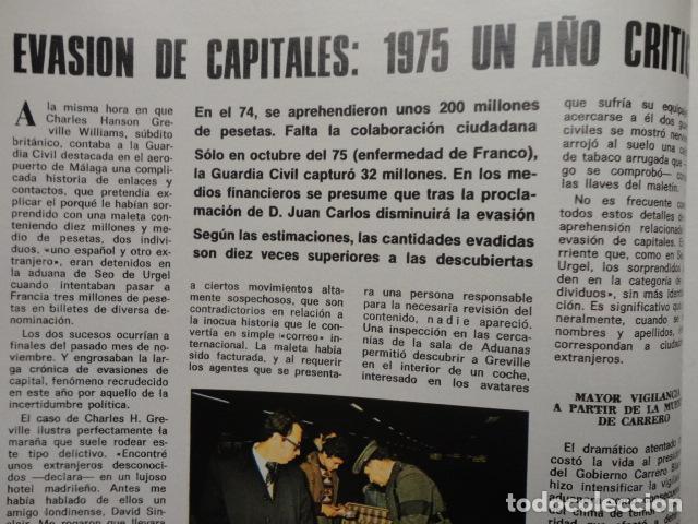 Coleccionismo de Revista Blanco y Negro: REVISTA BLANCO Y NEGRO Nº 3320 AÑO 1975 -NUEVO GOBIERNO -EVASION DE CAPITALES -MORIR EN EL SAHARA - Foto 9 - 68050965