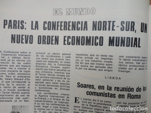 Coleccionismo de Revista Blanco y Negro: REVISTA BLANCO Y NEGRO Nº 3320 AÑO 1975 -NUEVO GOBIERNO -EVASION DE CAPITALES -MORIR EN EL SAHARA - Foto 11 - 68050965