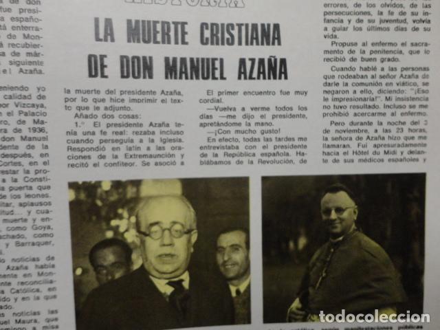 Coleccionismo de Revista Blanco y Negro: REVISTA BLANCO Y NEGRO Nº 3320 AÑO 1975 -NUEVO GOBIERNO -EVASION DE CAPITALES -MORIR EN EL SAHARA - Foto 13 - 68050965