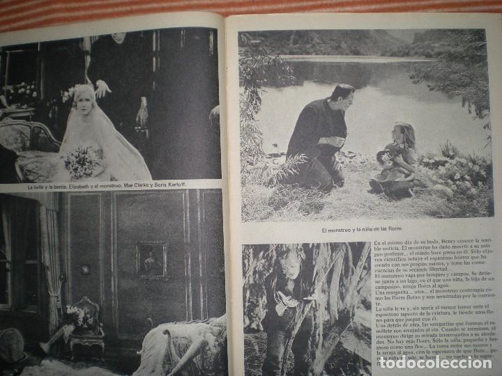 Coleccionismo de Revista Blanco y Negro: revista contiene muchas imágenes de las películas Frankenstein año 1931/32 en blanco y negro - Foto 5 - 68174713